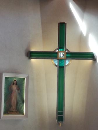kríža a obraz
