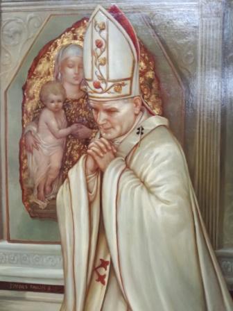 obraz sv. Jána Pavla II.